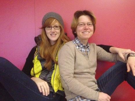 me and my sister Sabine Kraml