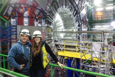 Michael Hoch guided us to the CMS experiment